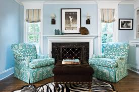 Zebra Area Rug Aqua Turquoise White Living Room Patterned Chair Zebra Area Rug