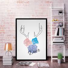 Cheap Framed Wall Art by Popular Framed Deer Art Buy Cheap Framed Deer Art Lots From China