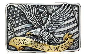 american flag patriotic belt buckles