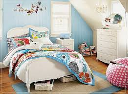 Light Blue Beige White Bedroom With Light Wood Furniture by Girls Bedroom Fancy Furniture For Bedroom Design And
