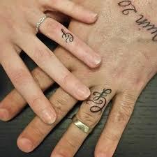 tattoo wedding ring design wedding rings