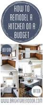 remodel a kitchen on a budget
