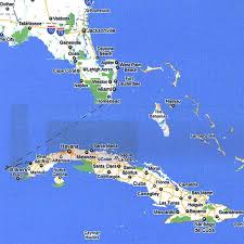 Key West On Map Cuba Five Days On The Cheap Free Cell Free Guard Dog Free