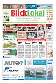 Sparkasse Bad Mergentheim Kw44 Bad Mergentheim Blicklokal 2016 By Blicklokal Wochenzeitung