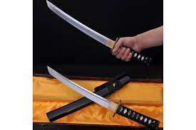 handmade japanese tanto sword knife 1060 high carbon steel can cut