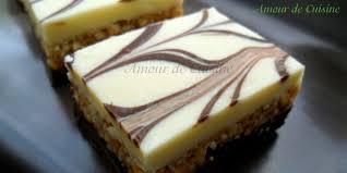 cuisine facile sans four nougat au chocolat blanc gateau sans cuisson amour de cuisine