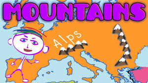 Map Of The United States For Children by Geography Explorer Mountains Educational Videos U0026 Lessons For