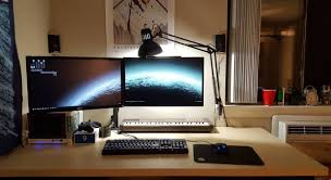 simple clean setup cybernetics pinterest gaming setup pc