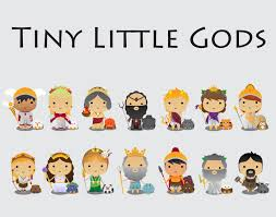 tiny little gods on behance