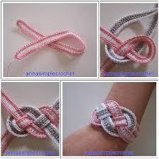 crochet bracelet diy images Diy crochet bracelet tutorial jpg