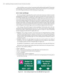chapter 3 roadways wayfinding and signing guidelines for page 42