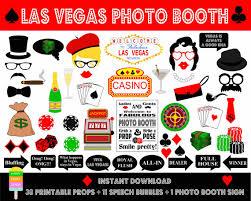 photo booth las vegas printable las vegas photo booth propspoker party props las