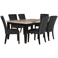 city furniture dining room sets monark rect marble dining room