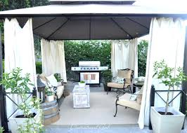 Patio Gazebo Replacement Covers by Bbq Gazebo Cover Replacement Home Depot Canopy 5782 Interior