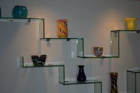 Kitchen Shelving Units by Fresh Modern Glass Shelves Wall Mounted 83 About Remodel Kitchen