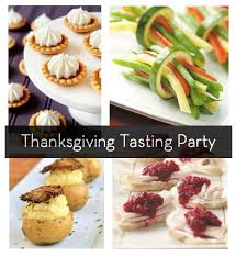 how to throw a thanksgiving tasting menus recipes and