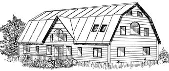 gambrel house plans gambrel house plans gambrel type economical house plans houses