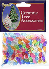 replacement plastic lights for ceramic christmas tree amazon com ceramic christmas tree plastic light up small twist