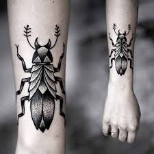 9 most beautiful insect tattoos for and