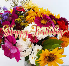 birthday flowers beautiful flowers happy birthday gif wishes to