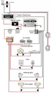 teardrop camper wiring schematic lonely teardrops pinterest
