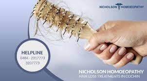 Best Hair Loss Treatments Nicholson Homeopathy Hair Loss Treatments In Cochin Provide The