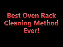 best way to clean oven racks