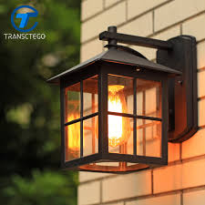 country style outdoor lighting wall l american country style simple modern waterproof outdoor