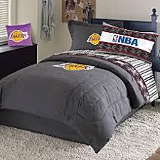 100 Cotton Queen Comforter Sets Nba Los Angeles Lakers Comforter Set Bed Bath U0026 Beyond