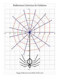 Halloween Math Printable by New For Halloween 2013 Cartesian Art Halloween Spider New Math