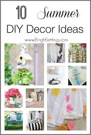 10 summer diy decor ideas the bright ideas blog