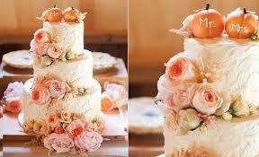 fall wedding cakes floral fall wedding cakes cake magazine