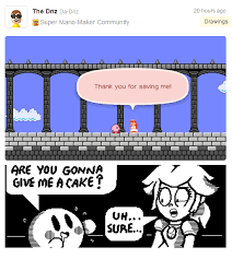 Meme Cartoon Maker - kirby sure is hungry super mario maker know your meme