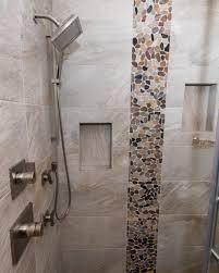 river rock bathroom ideas river rock tile bathroom floor floor tile my home interior