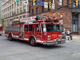 North Bay Fire Prevention by Truck 4 Scranton Fire Department 2013 Armed Forces Parade