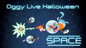 oggy cockroaches live halloween compilation space