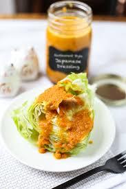 dressing cuisine japanese restaurant style dressing pickled plum food and