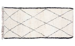 White Rug Runner Black And White Moroccan Rug Saved To Favorites Clockwise From