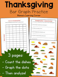 free thanksgiving bar graph worksheets free homeschool deals