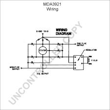 mda3921 alternator product details prestolite leece neville