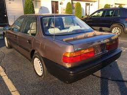 honda accord 1 1991 honda accord 1 owner garaged only 81k for sale