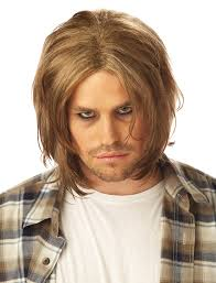spirit halloween black wigs amazon com california costumes men u0027s grunge wig dirty blonde one