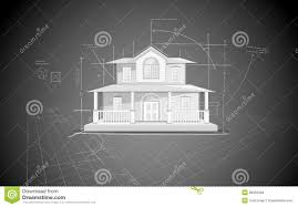 house blue print stock photos image 26052363