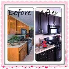 Rustoleum Kitchen Cabinet Transformation Kit Biscotti Glazed Rustoleum Cabinet Transformations Rental Home