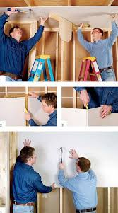 How To Hang Drywall On Ceiling By Yourself by Drywall Made Simple Buy Install And Finish In 13 Easy Steps