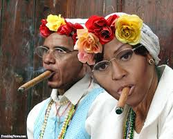 the obama u0027s in cuba smoking cigars pictures freaking news