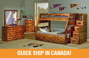 Bunk Beds In Canada Buy Cheap  Affordable Twin Full  Bunkbeds - Wood bunk beds canada