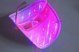 blue and red light therapy for acne new neutrogena the light therapy acne mask laura louise makeup