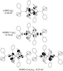 optical properties of trinuclear metal chalcogenolate complexes