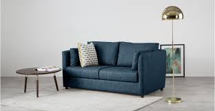 sofa beds uk milner sofa bed with foam mattress harbour blue made